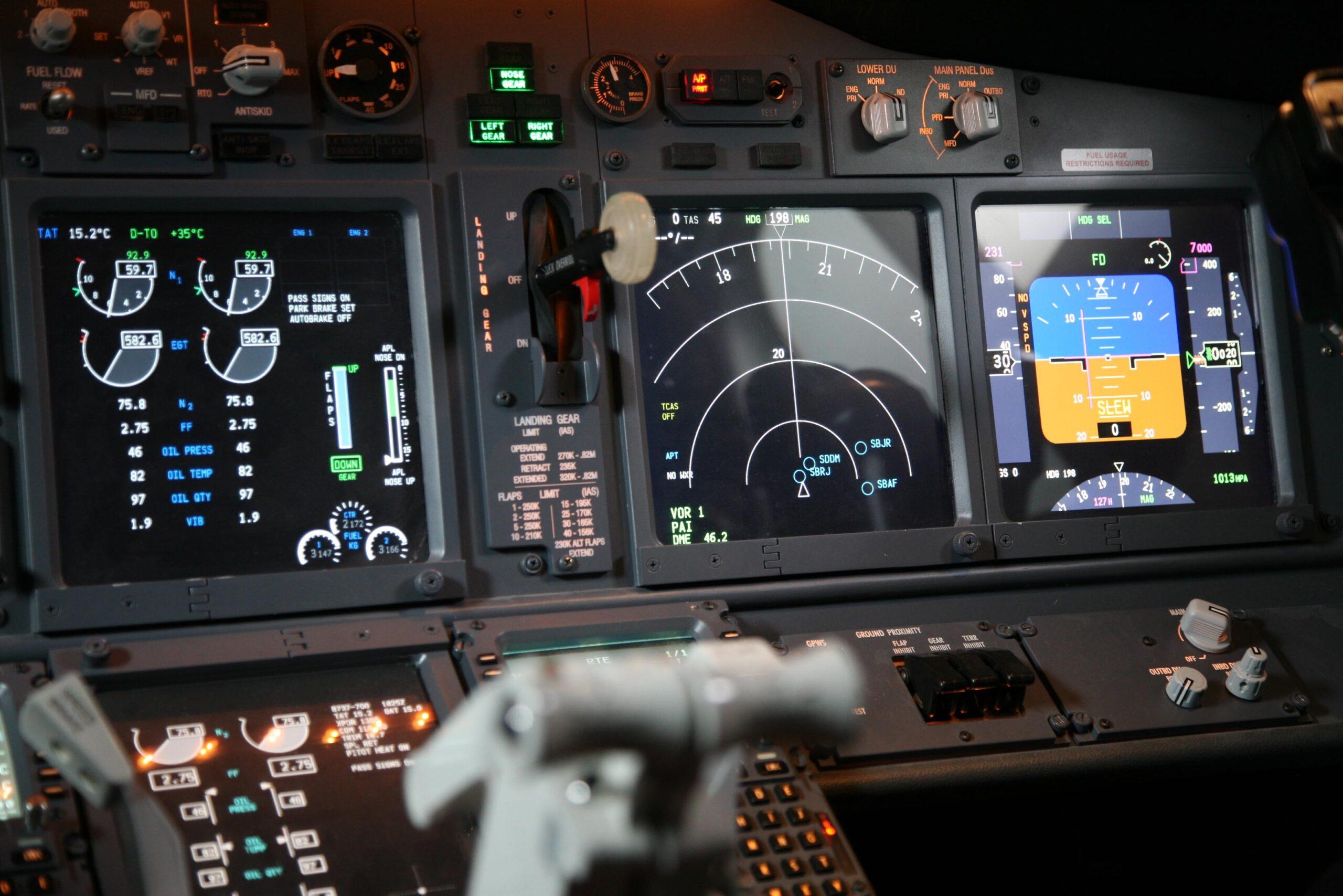 aircraft signal meter