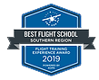 Best Flight school southern region badge