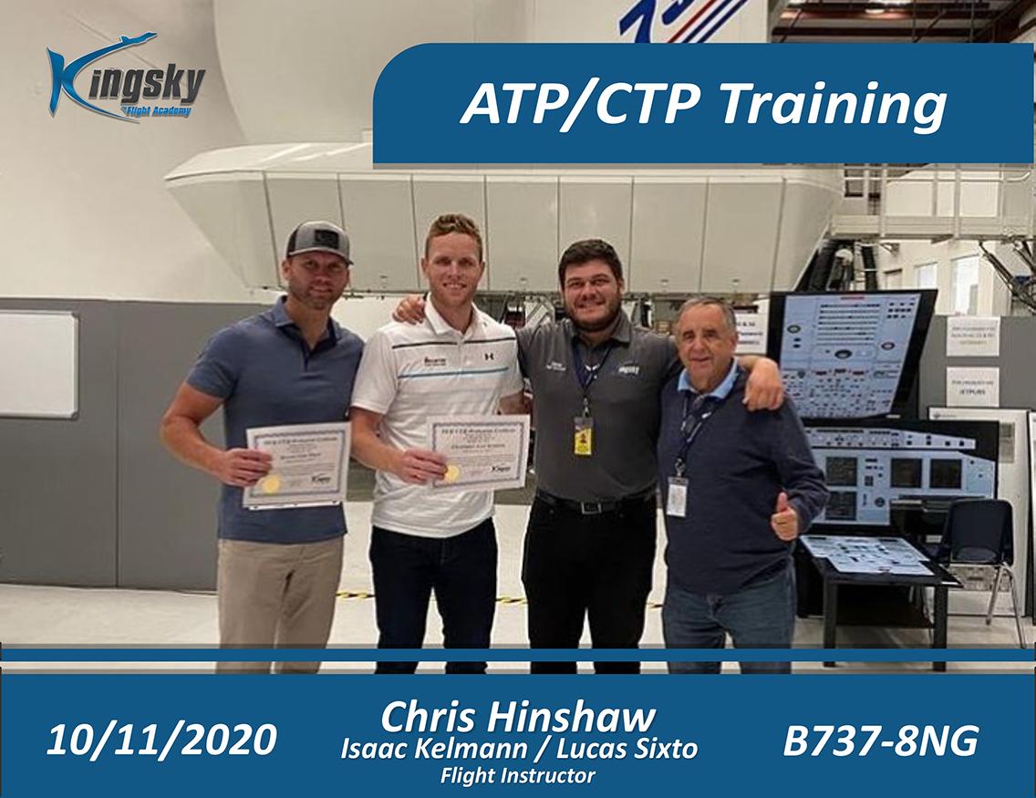 ATP/CTP Training testimonial