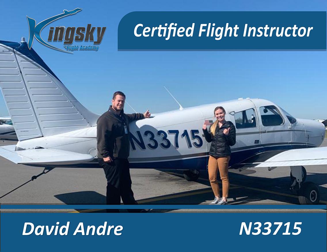 Cavid Andre Certified Flight Instructor