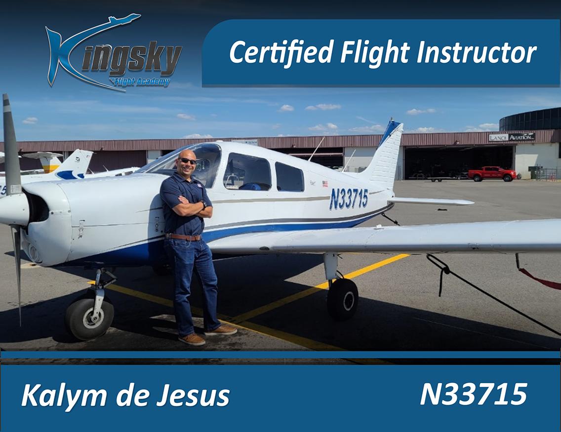 Certified Flight Instructor testimonial Kalym de Jesus