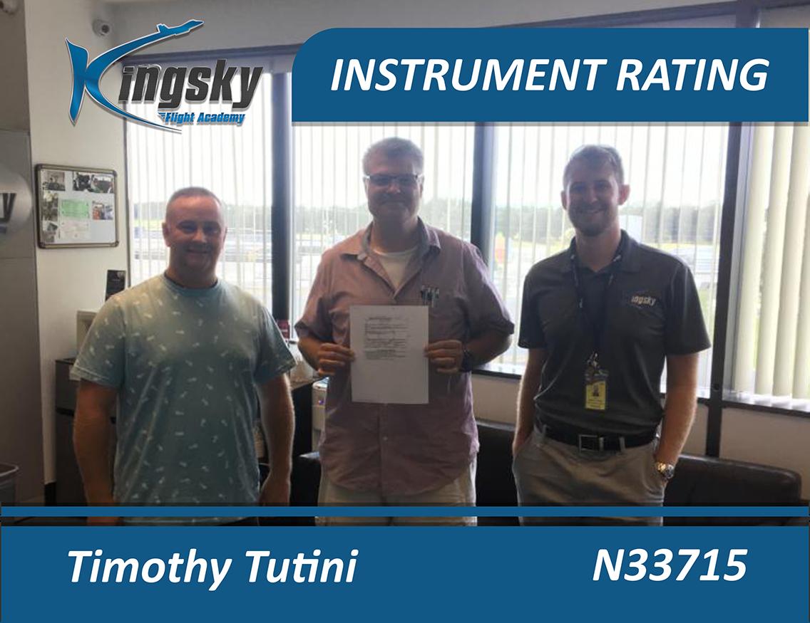 Instrument Rating testimonial